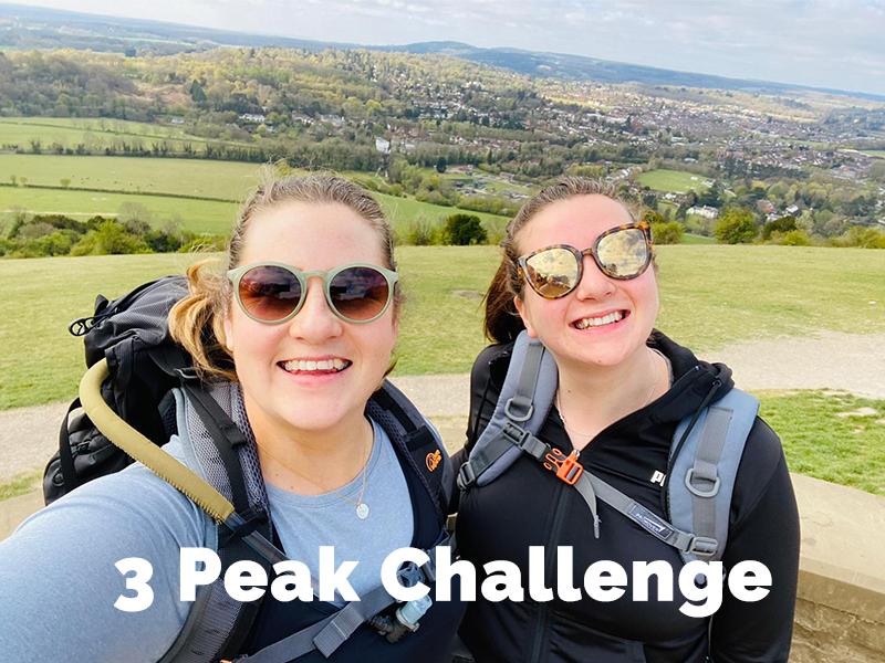Sarah and Anna's Three Peak Challenge