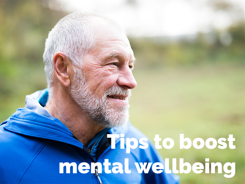 Tips to boost mental wellbeing