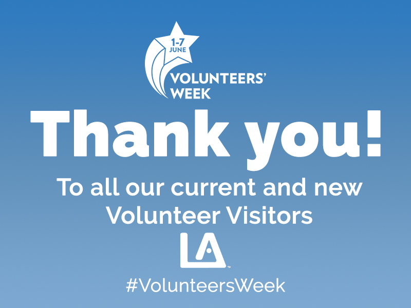 Thank you to our wonderful team of Volunteers