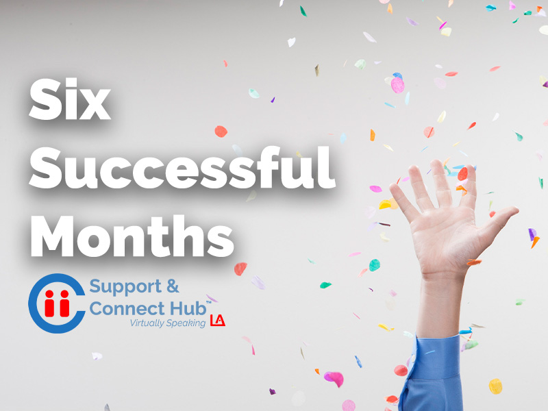 Support and Connect Virtually Speaking: Six Successful Months