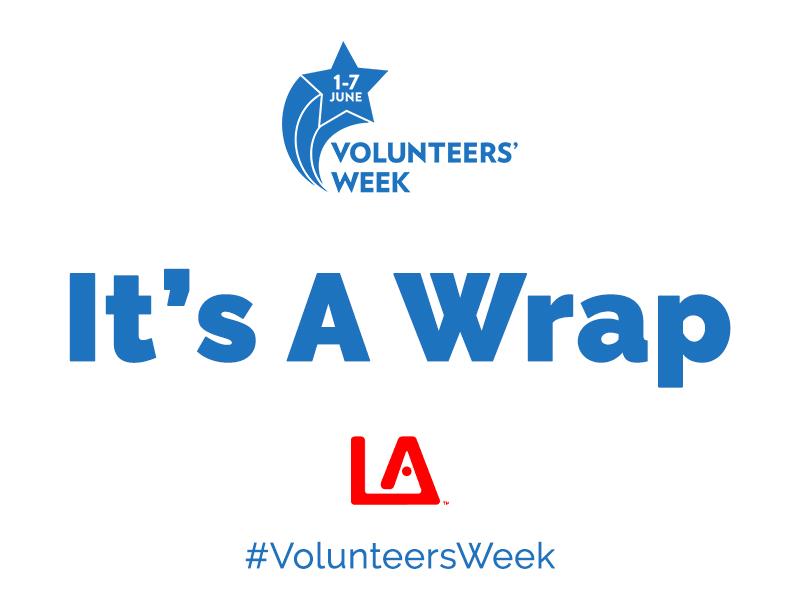 Thank You Again – Volunteers Week 2021